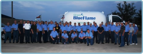 Green's Blue Flame Team